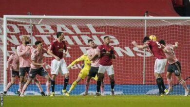 Photo of Bottom side Sheffield stun Man United