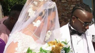 Photo of PHOTOS: Patapaa weds his German girlfriend Liha Miller