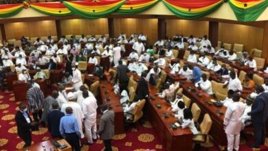 Photo of NDC MPs take over majority side in Parliament