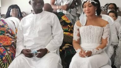 Photo of Photos: Kennedy Agyapong ties the knot at a private ceremony
