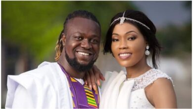 Photo of Eddie Nartey loses wife