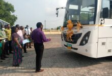 Photo of Prez. Akuffo Addo Donates Bus To Keta NMTC