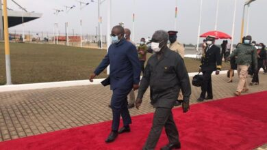 Photo of Liberia's President, George Weah, others in Ghana for Akufo-Addo swearing-in