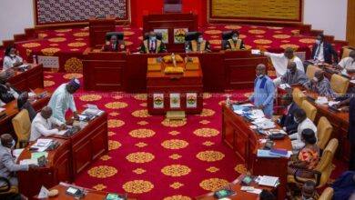 Photo of Parliament votes against Ayariga's motion for absorption of 2021 tertiary fees