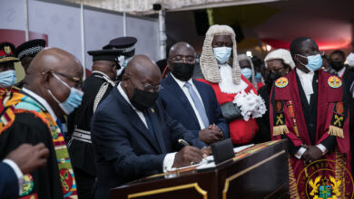 Photo of Akufo-Addo's final State of the Nation address in 7th Parliament [Full text]