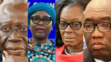 Photo of Gloria Akuffo, Atta Akyea, Halima Mahama and other former ministers who lost their positions