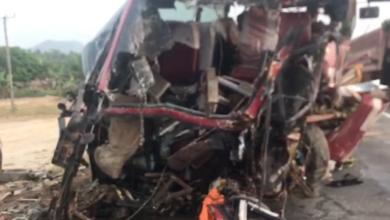 Photo of 16 perish in crash at Akim Asafo