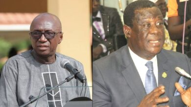 Photo of Ambrose Dery, Amoako Atta take turns at ministerial vetting today