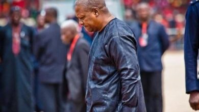 Photo of Supreme court rules: Mahama can't reopen case
