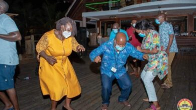 Photo of Photos: MPs dance their hearts out after orientation at Aqua Safari