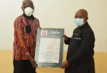 Photo of GHS Honours Dr Letsa