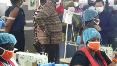 Photo of Over 80% of nose masks are produced in Ghana