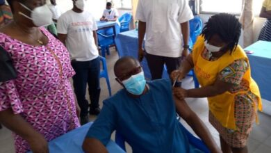 Photo of COVID-19 vaccination progresses smoothly in Volta