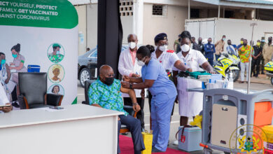 Photo of Ghana begins mass vaccination against Covid-19