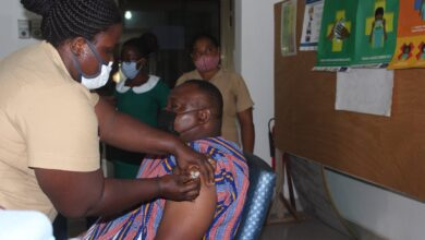 Photo of Keta/VR: MCE Receives First Jab Of Covid-19 Vaccine