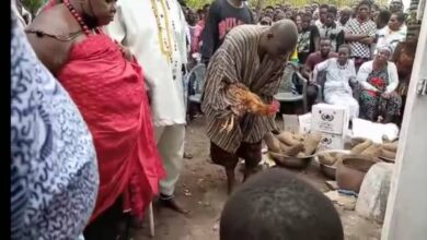 Photo of Gomoa chiefs appease gods over drowning of 13 teenagers at Apam