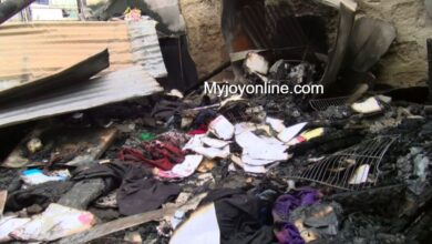 Photo of 9-year-old boy burnt to death as stepfather sets house ablaze