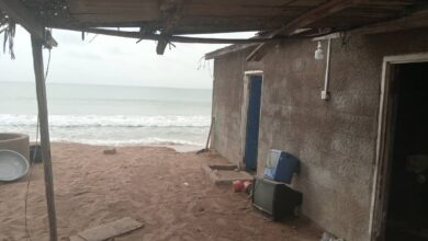 Photo of Residents In Distress After Tidal Wave Wash Out Homes