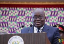 Photo of Time for Akufo-Addo's Tuesday SoNA changed