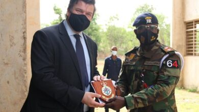 Photo of UK's Minister of Armed Forces visits Ghana as part of regional tour