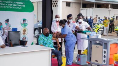 Photo of COVID-19: Akufo-Addo, Bawumia vaccinated