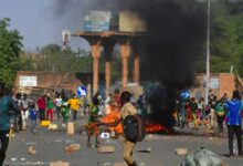 Photo of Protests erupt in Benin days before high-stakes election