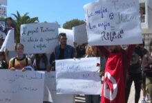 Photo of Angry protest in Tunisia over garbage shipment from Italy