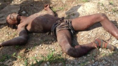 Photo of Kofi,31,beaten to death at Ntonso