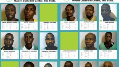 Photo of Ghana on high security alert after over 1,800 prisoners break jail in Nigeria