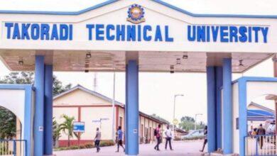 Photo of Students of Takoradi Technical University reject certificate