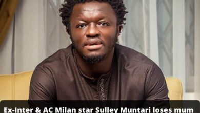 Photo of Ex-Inter & AC Milan star Sulley Muntari loses mum Hajia Kande
