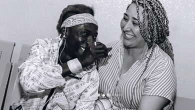Photo of Patapaa Allegedly Expecting First Child With His 'Obroni' Wife