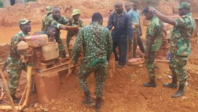 Photo of We'll destroy equipment found at galamsey sites – Ghana Armed Forces vow