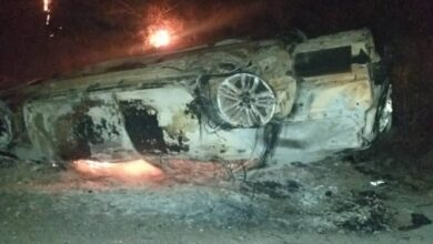 Photo of Alleged ritual killing: Youth set ablaze vehicle of traditional priestess' husband