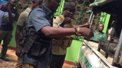 Photo of 19 alleged national security operatives arrested for illegal mining in Atewa forest