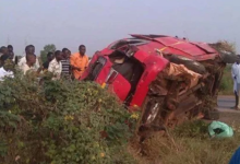 Photo of Accident on Accra-Tema Motorway claims 5 lives, 15 injured