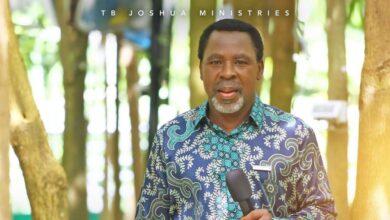 Photo of BREAKING: Prophet T.B. Joshua is dead