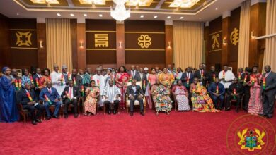 Photo of 'I won't tolerate acts of disloyalty or subversion – Akufo-Addo warns deputy ministers