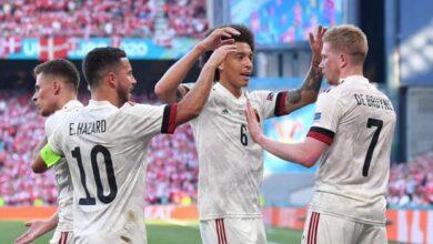 Photo of Euro 2020: De Bruyne inspires Belgium to comeback win against Denmark