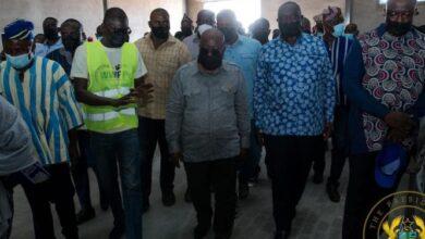 Photo of Akufo-Addo, Alan Kyerematen visit factories under 1D1F