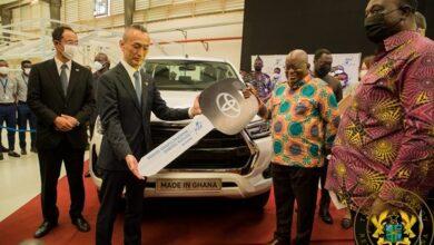 Photo of Akufo-Addo commissions Toyota & Suzuki vehicle assembly plant