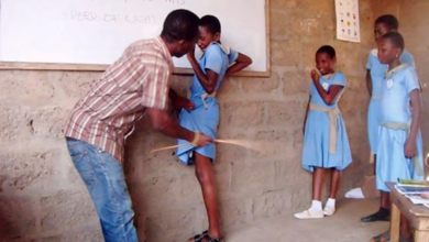 Photo of School head allegedly injures student through caning