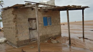 Photo of Anloga District: Coastal Erosion Hits Over 60 Houses
