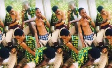 Photo of Photos Of Mankessim Senior High School Students Smoking Weed On Campus Causes Outrage Online