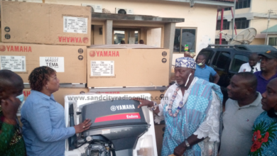 Photo of Hawa Koomson Hands Over 100 Outboard Motors to Fisher Folks in Keta and Anloga Districts