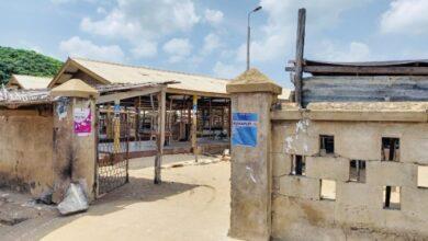 Photo of Keta Market in a deplorable state; market women demand quick fixing