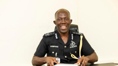 Photo of COP Dampare takes over from Oppong-Boanuh as acting IGP