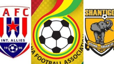 Photo of GFA investigates Ashgold's 7-0 win over Inter Allies after match-fixing claims