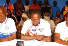 Photo of Nkwanta MCE Nomination; NPP Supporters Root  for Constituency Secretary