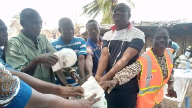 Photo of ANLOGA DISTRICT: DCE Supports Residents After Tidal Wave Attack